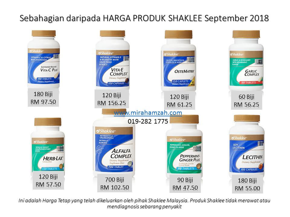 Harga Shaklee